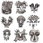 """""""Faces"""", Alice Heit"""