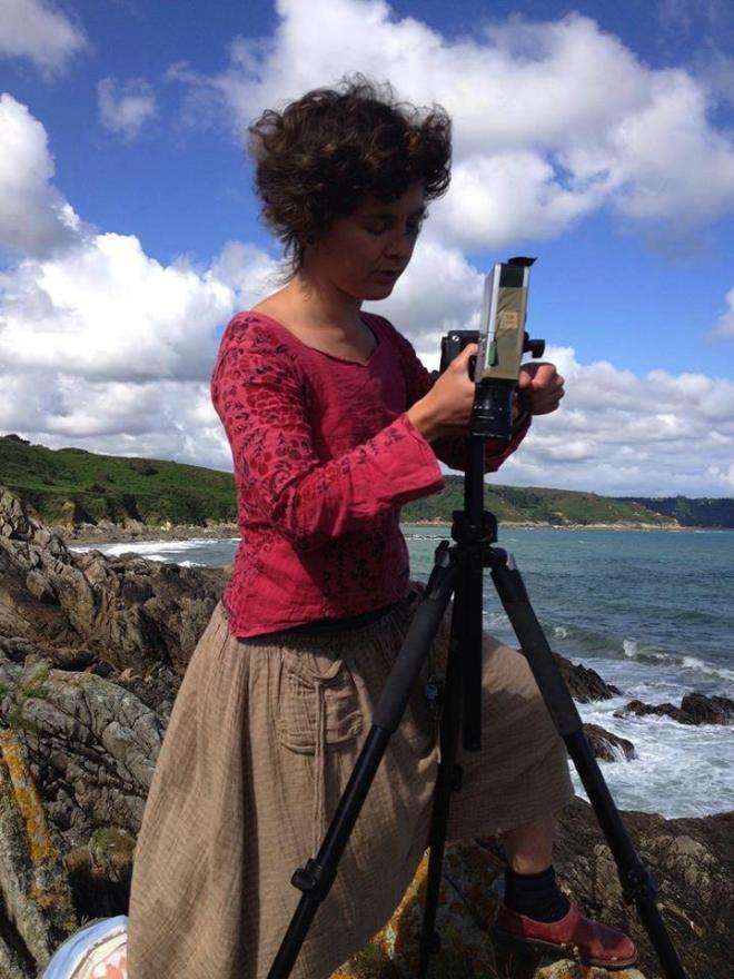 Alice Heit tournage super 8