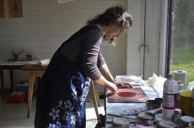 Alice Heit, taille douce, gravure contemporaine