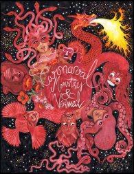 Affiche de carnaval, encre et aquarelle. / Alice Heit 2015.