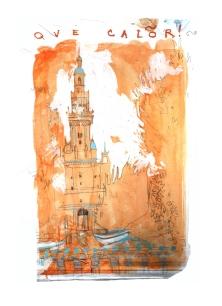 Croquis Seville /Alice Heit