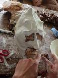 Atelier de masques avec les adultes