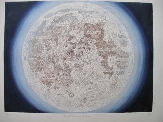 """""""Mers et océans de la lune"""", Alice Heit 2016"""