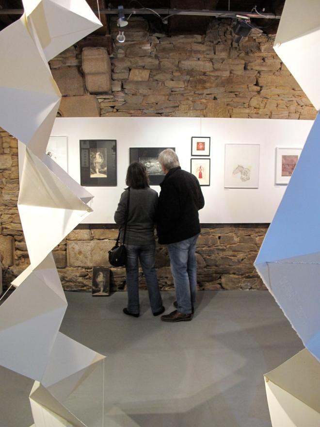 exposition de gravures à l'atelier blanc, Journées européennes des métiers d'art