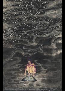 """""""Plus la nuit se fait sombre..."""", Alice Heit 2013."""