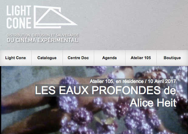 eaux profondes alice heit light cone